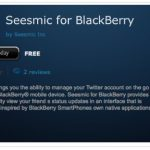 Seesmic to stop supporting BlackBerry devices June 30th