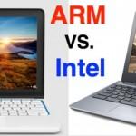 Chromebooks: Unlikely battlefield for Intel vs. ARM