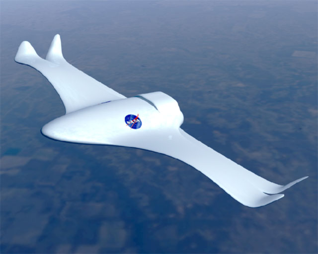 Nasa - New technology of aircraft
