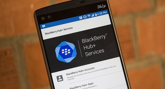 BlackBerry Hub Plus