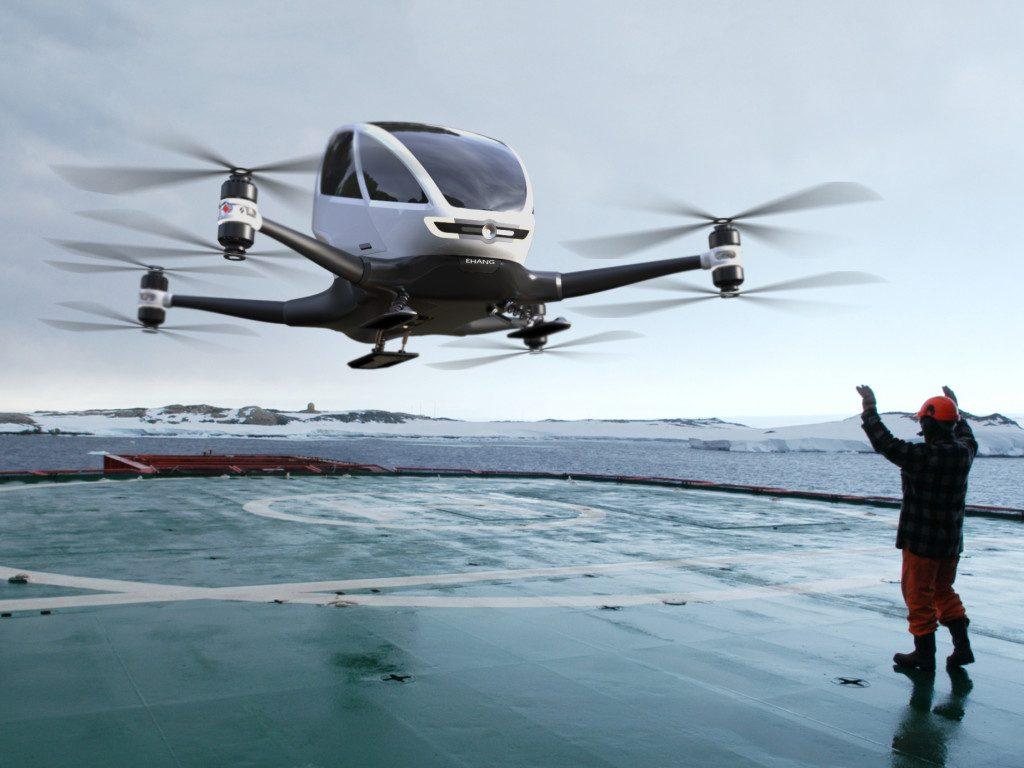Autonomous Passenger Drone